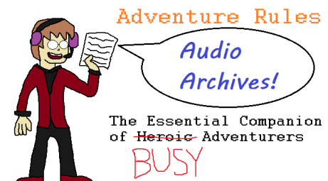 Adventure Rules Audio Archives Logo