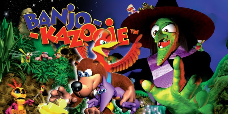 Banjo Kazooie Box Art