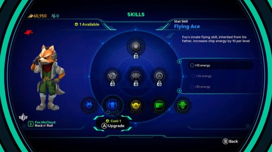 Starlink Fox Skill Tree