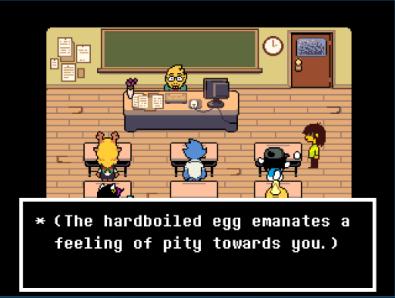 Deltarune Hardboiled Egg