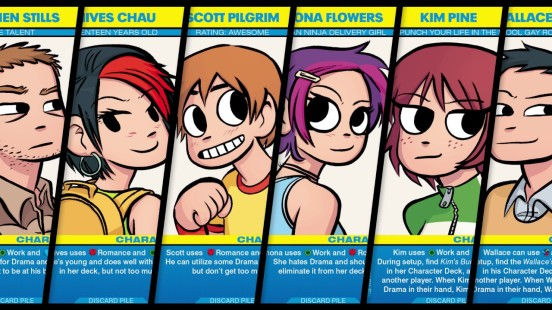 Scott Pilgrim Card Characters