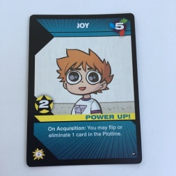 Scott Pilgrim Card Joy