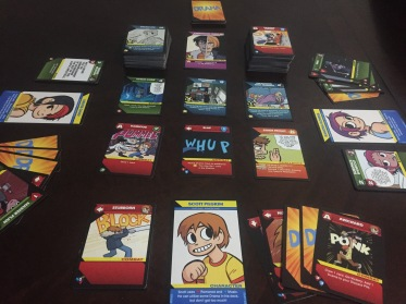 Scott Pilgrim Card Setup