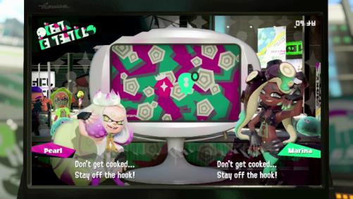 Splatoon Pearl and Marina