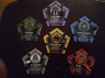 Betrayal at Baldurs Gate Character Cards
