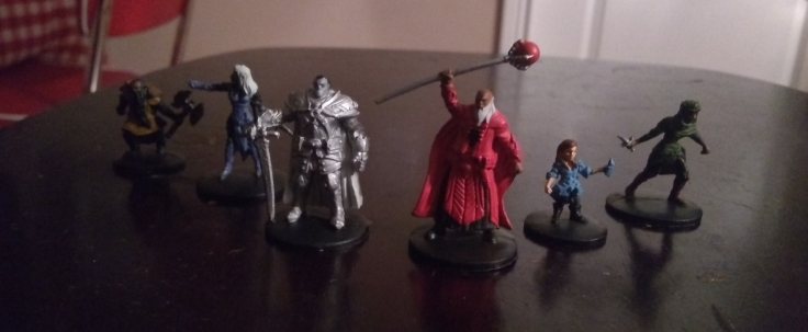 Betrayal at Baldurs Gate Minis