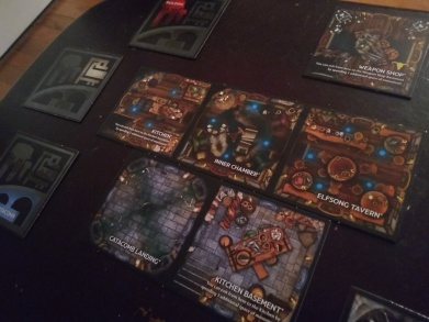 Betrayal at Baldurs Gate Room Tiles