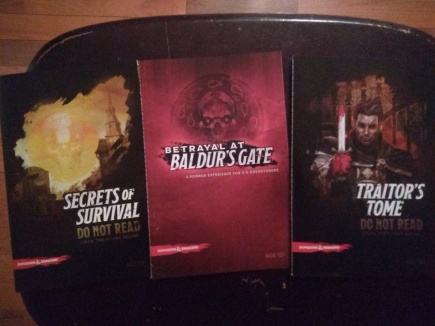 Betrayal at Baldurs Gate Rulebooks