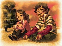 Junpei and Akane Kids