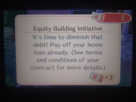 Animal Crossing Equity Housing Initiative