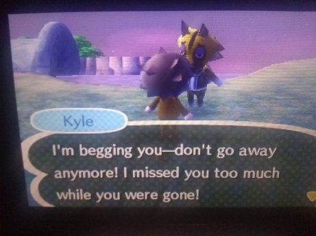 Animal Crossing Missing You