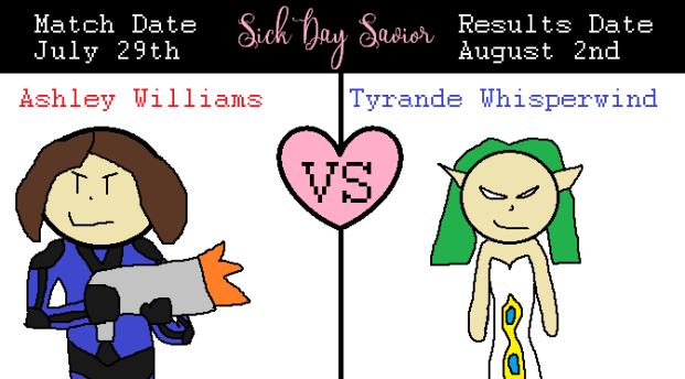 Blogger Blitz Shipping Wars Ashley Williams Versus Tyrande Whisperwind