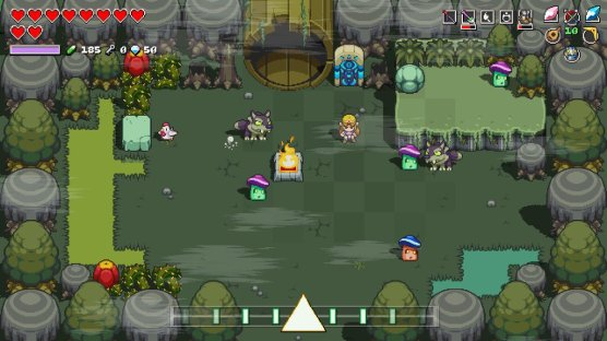 Cadence of Hyrule Lost Woods Entrance