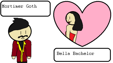 Mortimer Goth and Bella Bachelor