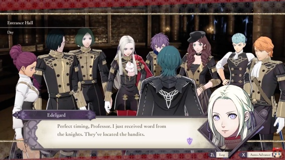 Three Houses Black Eagles Students