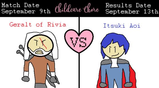 Blogger Blitz Shipping Wars Geralt of Rivia vs Itsuki Aoi