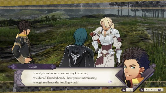 Three Houses Intimidating Catherine