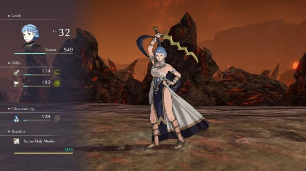 Three Houses Marianne Dancer Pose