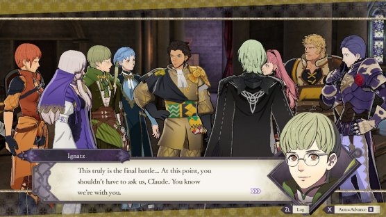 Three Houses You Know We're With You