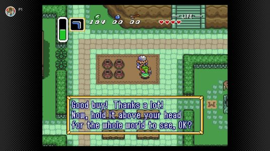 A Link to the Past Above Your Head