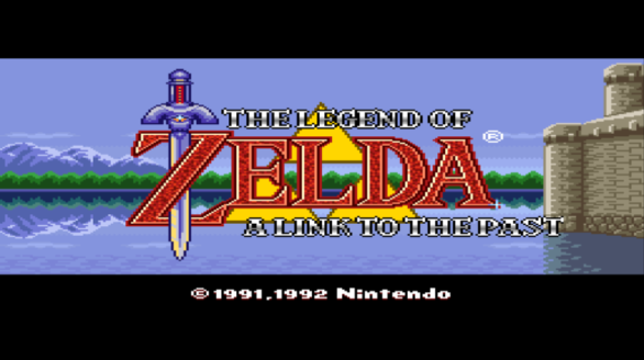 A Link to the Past Cover