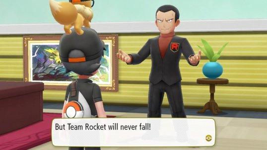Fuzzblock Team Rocket Never Falls