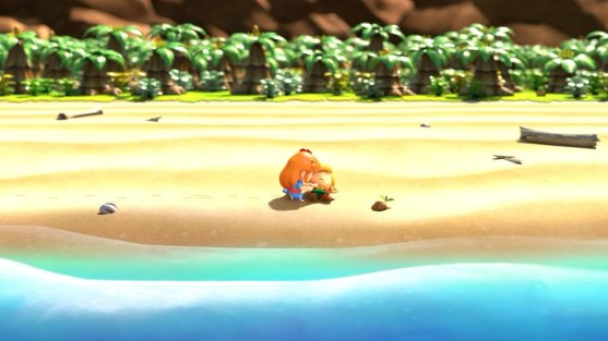 Links Awakening Washed Ashore