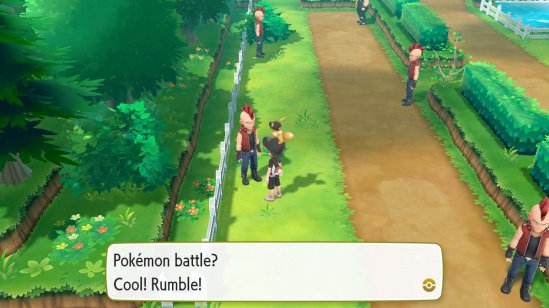 Fuzzblock Pokemon Rumble