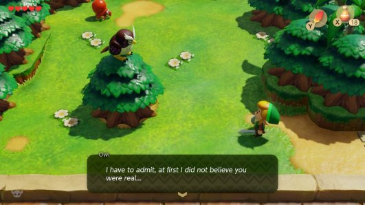 Links Awakening Are You Real