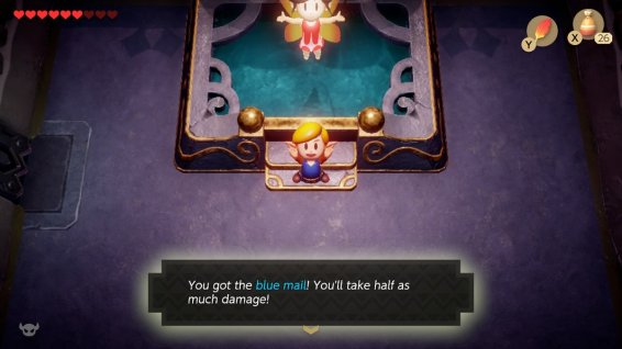 Links Awakening Blue Mail