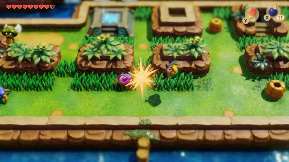 Links Awakening Midair Clash
