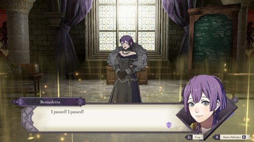 Three Houses Bernadetta Gremory
