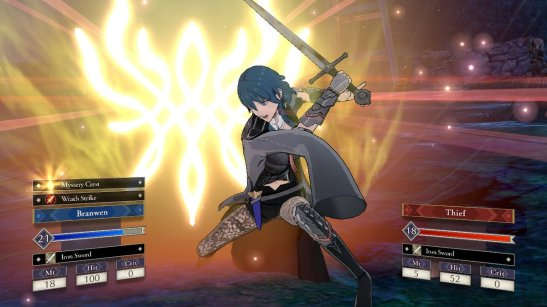 Three Houses Wrath Strike