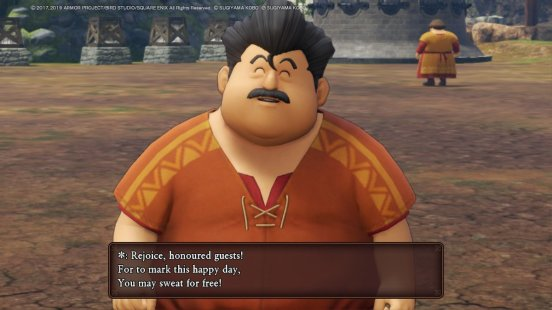 DQ11 Sweat for Free