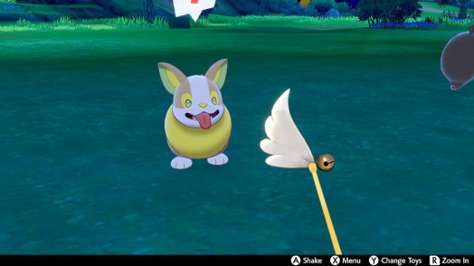 SwordShield Yamper Feather Toy