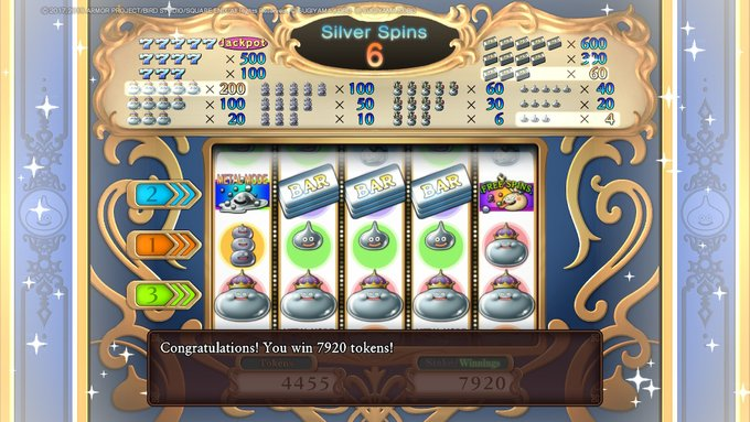 Dragon Quest 11 Casino Jackpot