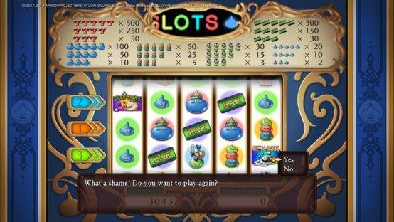 DQ11 Losing at Slots