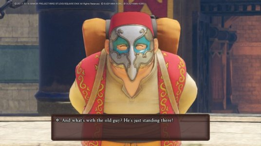 DQ11 That Old Guy