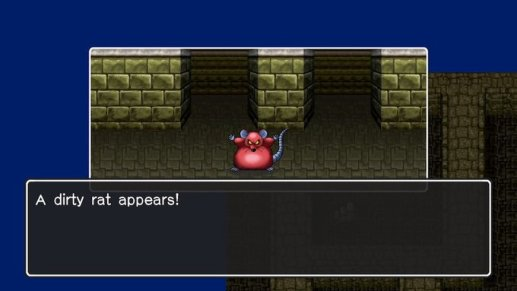 DQ2 A Dirty Rat Appears