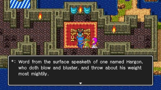 DQ2 Blow and Bluster