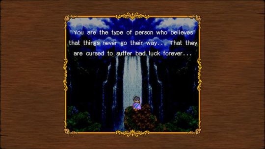DQ3 Bad Luck Forever