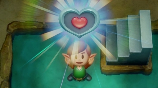 Links Awakening Piece of Heart