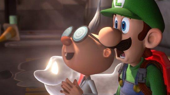 Luigis Mansion Seeing the Lab