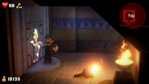 Luigis Mansion Walk Like an Egyptian