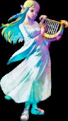 Skyward Sword Zelda Harp