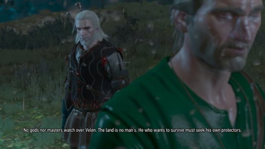 Witcher No Gods or Masters