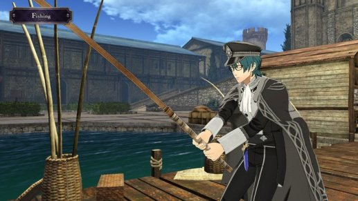 Cindered Shadows Byleth Fishing