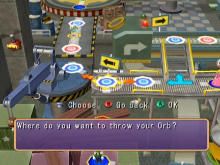 Mario Party 6 Orb Throw