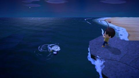 New Horizons Fishing