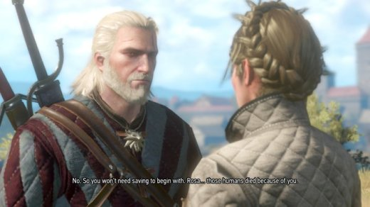 Witcher Humans Died Because of You